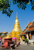 Wat Phra That Hariphunchai — Stock Photo