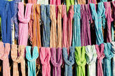 Colorful scarf,thailand — Stock Photo