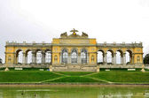 Gloriette in Schoenbrunn Palace park-Vienna,Austria . — Stock Photo