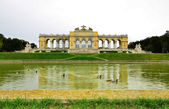 Gloriette in Schoenbrunn Palace park-Vienna,Austria . — Stock Photo