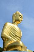 Thai Buddha Golden Statue — Stock Photo