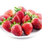 Fresh strawberries on a white background — Stock Photo #40470675