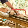 Carpenter working — Stock Photo #41676111