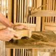 Carpenter working — Stock Photo #41676693