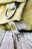 Camera Bags in the cottage — Stock Photo