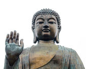 Tian Tan Buddha - The worlds's tallest bronze Buddha in Lantau Island, Hong Kong — Stock Photo