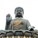 Tian Tan Buddha - The worlds's tallest bronze Buddha in Lantau Island, Hong Kong — Stock Photo #43651261