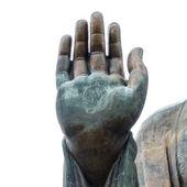 Hong Kong içinde büyük Buda'nın eli. — Stok fotoğraf