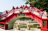 Longevity Bridge in Kwan Yin Temple on Repulse Bay, Hong Kong — Stock Photo