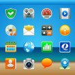 Apps icon set — Stockvectorbeeld