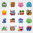 Cute Monsters — Image vectorielle
