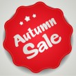 Autumn sale. — Vettoriale Stock