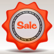 Sale sticker — Stock Vector