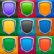 Shields set — Stock Vector #35399981