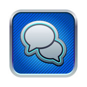 Chat icon — Stockvektor