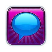 Messenger window icon — 图库矢量图片