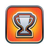 Trophy icon — Stock Vector