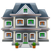 Nieuwe interne gezinswoning — Stockvector