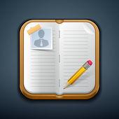 Notebook — Stock Vector