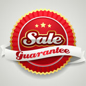 Sale sticker — Stock Vector