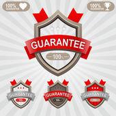 Premium Quality Shields — Stock Vector