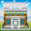 Vetorial Stock : Store icon
