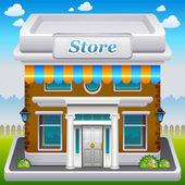 Store icon — Stock Vector