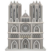 Cathedral — Stock Vector