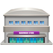 Hardware store — Stock Vector