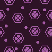 Simple flover  texture in purple color — Stockvector