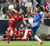 Bayern munique vs chelsea fc da uefa champions league final — Fotografia Stock