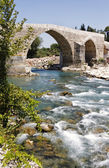 Antic Roman bridge — Stock Photo