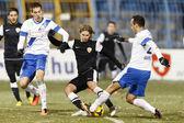 MTK vs. DVTK OTP Bank League match — Stock Photo