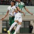 Stock Photo: Ferencvaros vs. Gyori ETO OTP Bank League football match
