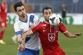 MTK Budapest vs. Videoton OTP Bank League football match — Stock Photo