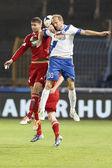 Mtk debreceni vsc otp Bankası Ligi Futbol vs maç — Stok fotoğraf