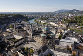 The downtown of Salzburg — Stock Photo