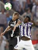 Ujpest vs. Diosgyori VTK Hungarian Cup final football match — Stock Photo