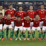 Постер, плакат: Hungary vs Albania friendly football match