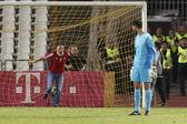 Hungary vs. Albania friendly football match — Stock Photo