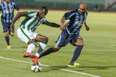 Ferencvarosi TC vs. Sliema UEFA EL football match — Stock Photo
