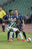 Ferencvarosi TC vs. Sliema UEFA EL football match — Stock Photo
