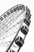 The Wheel of Manchester in Picadilly Gardens — Stock Photo
