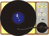 Gramophone — Stock vektor