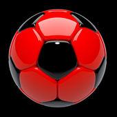 Fútbol en 3d, balón de fútbol — Foto de Stock