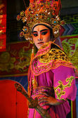 Chinese Opera team acting — Stock Photo