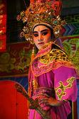 Chinese Opera team acting — Stock Photo