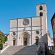 Cathedral of saint mary of the annunciation, todi, umbria, italy — Stock Photo