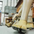 Постер, плакат: Prosthetic legs workshop artificial limbs