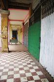 Viejo pasillo colonial — Foto de Stock